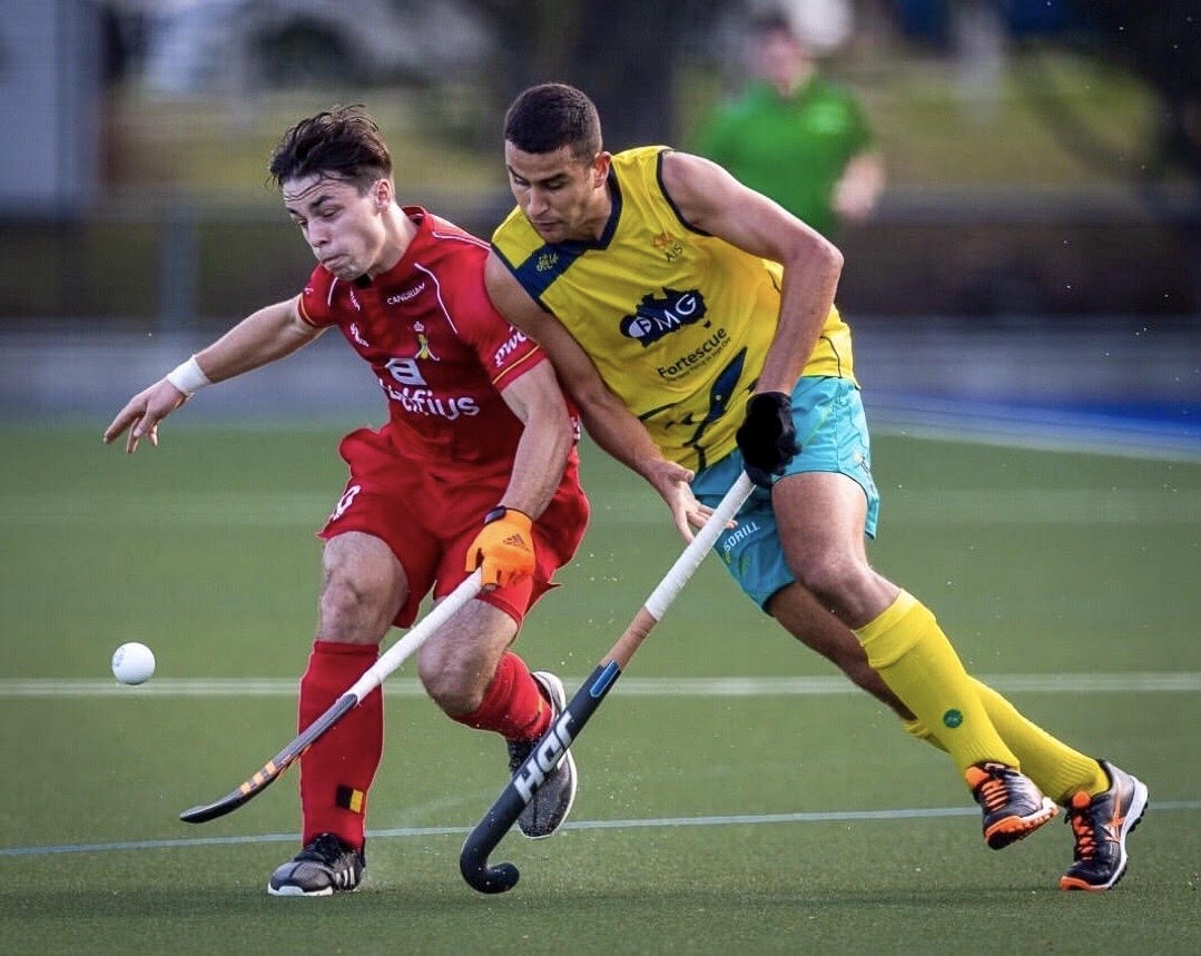 Team Monash: Hockey Star Nathan Ephraums Makes Kookaburra's Debut